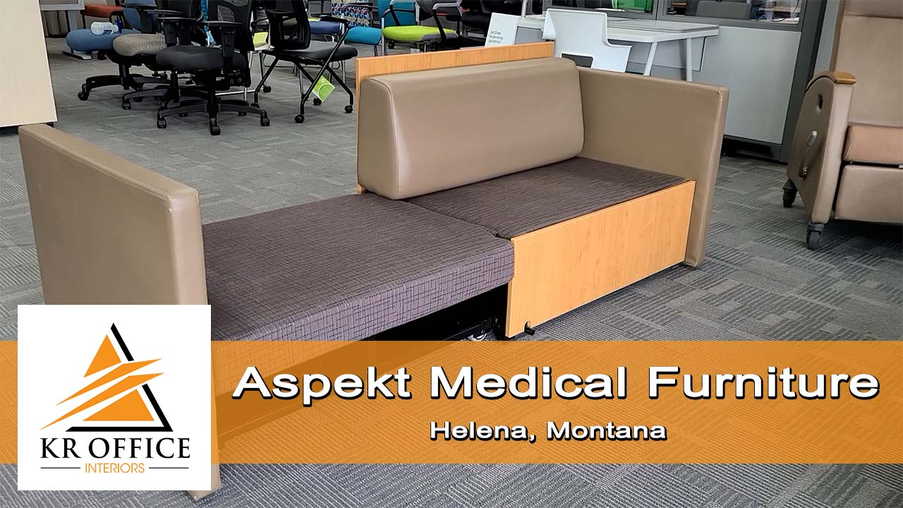Aspekt Hospital or Patient Room Furniture | KR Office Interiors, Helena, MT