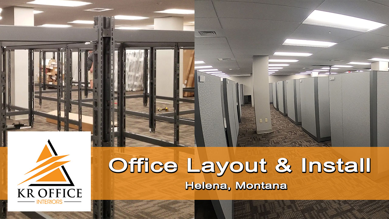 Office Design and Installation for Armory Building | Helena, MT