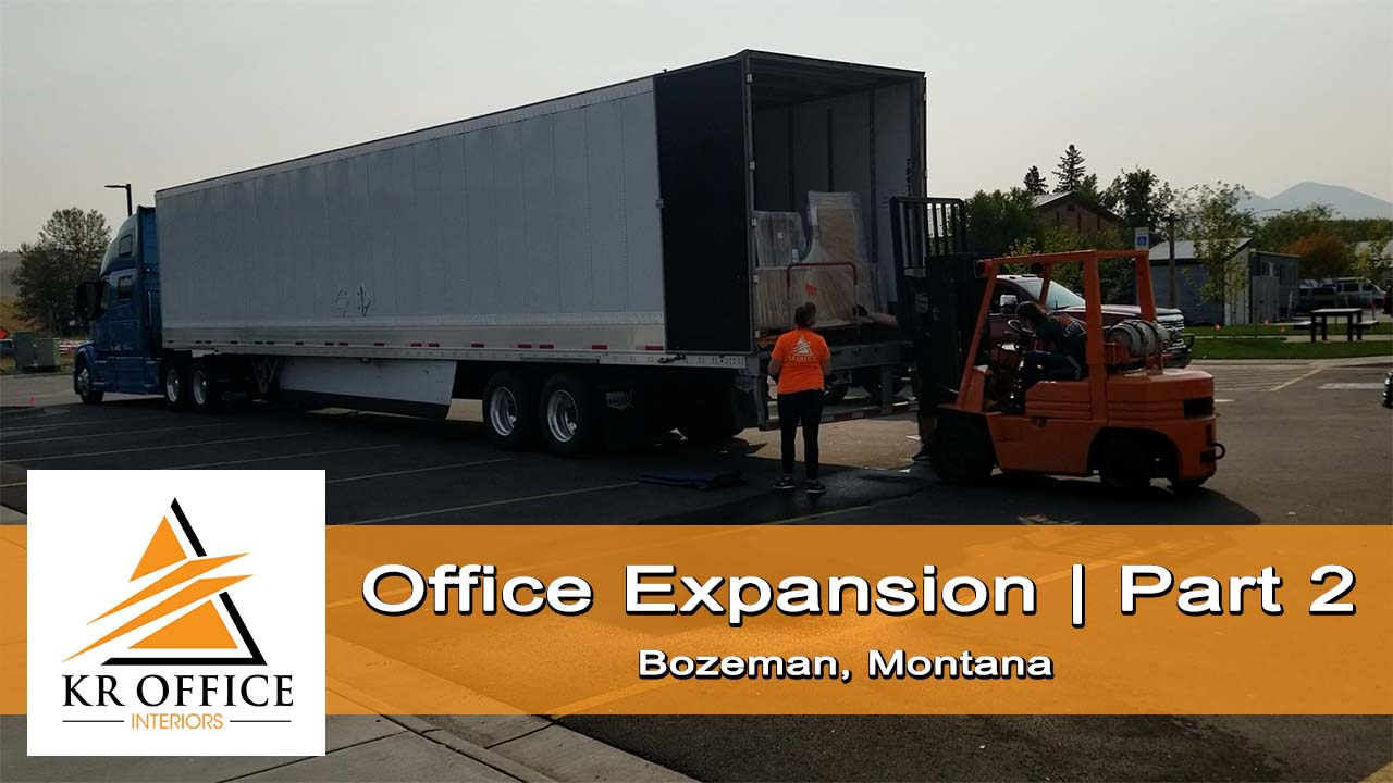 Office Expansion Moving Furniture | Part 2 | KR Office Interiors, Bozeman, MT
