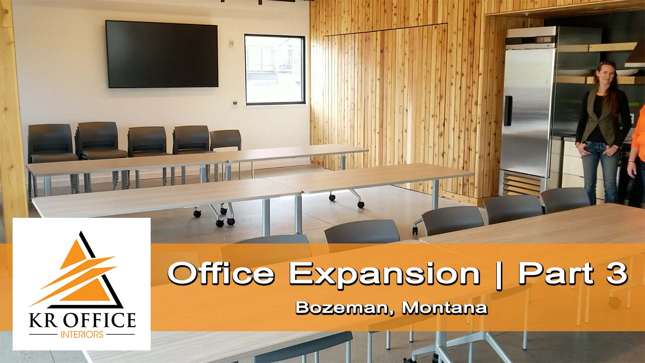 Office Expansion | Part 3 | KR Office Interiors, Bozeman, MT