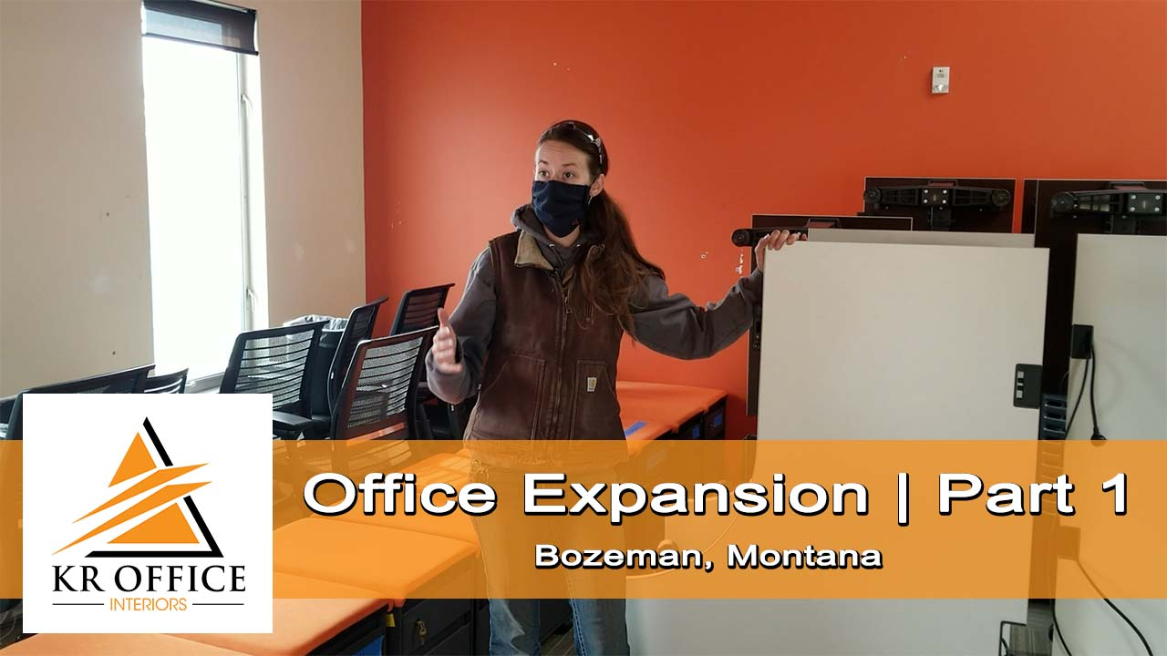 Office Furniture Tear Down | Part 1 of Office Re-Design | KR Office Interiors, Bozeman, MT