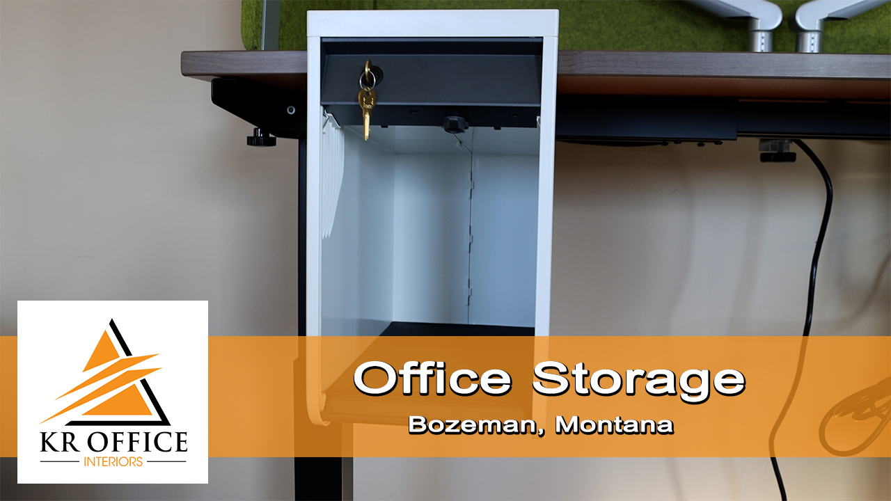 Office Storage For Any Application | KR Office Interiors | Bozeman Montana