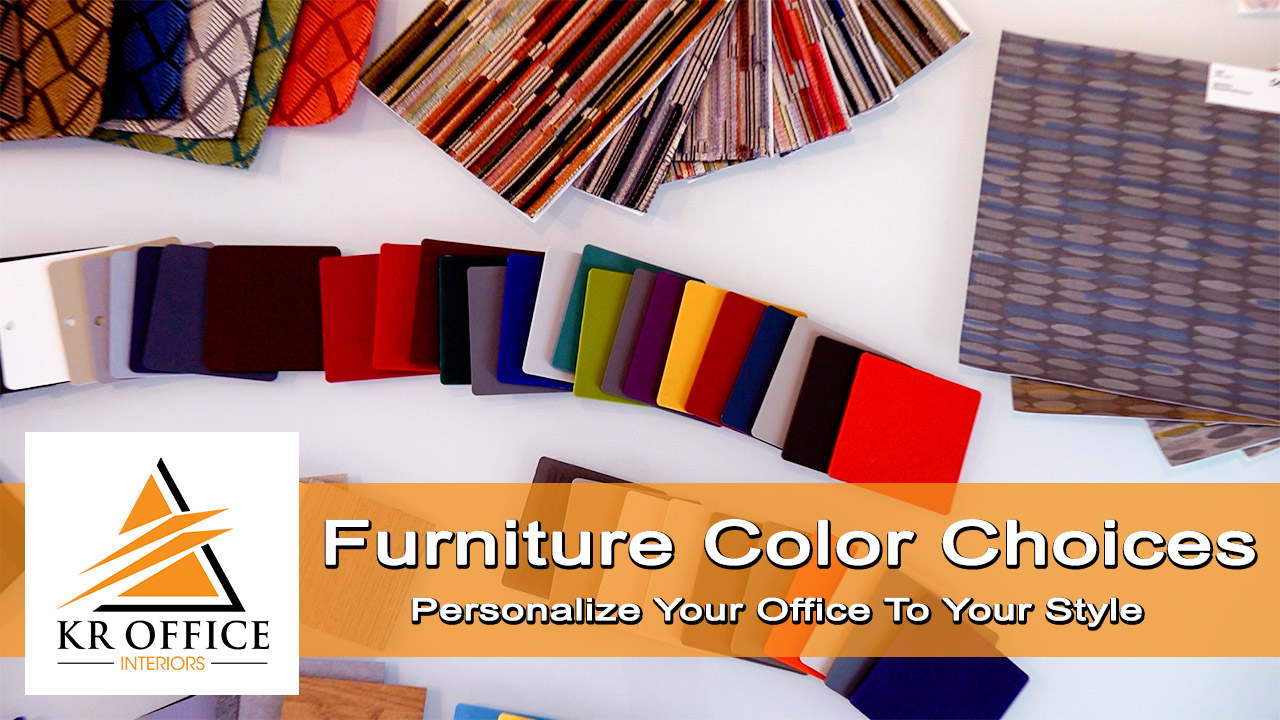 Personalize Your Office Furniture With Color, Fun Patterns, Different Textures