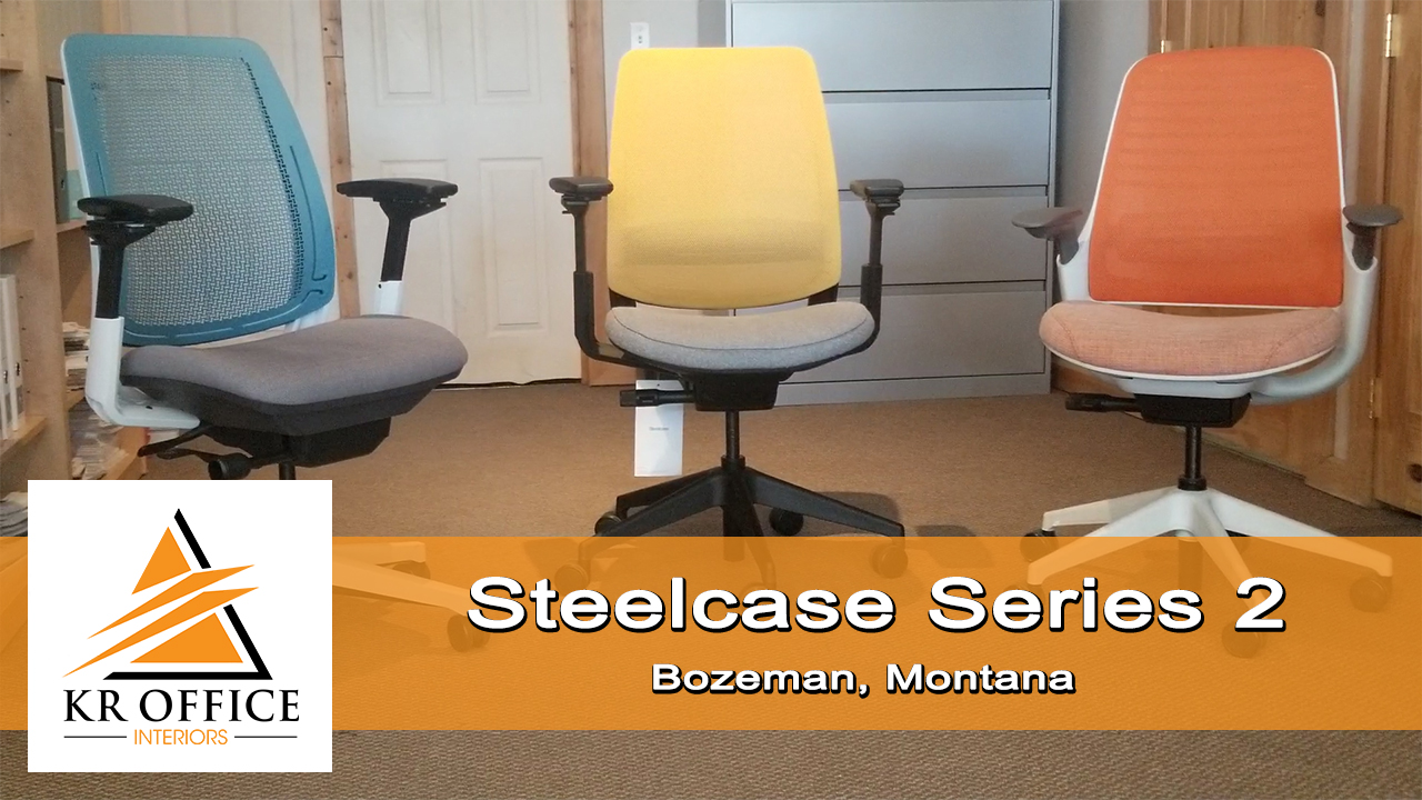 Steelcase Series 2 Chair with Lumbar Support | KR Office Interiors Southwest Montana